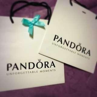 🎀pandora 潘朵拉 購物 提袋