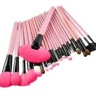 24pcs Make Up Brushes