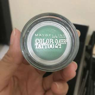Maybelline Color Tattoo 24hr  - Edgy Emerald