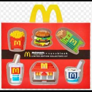 WTT McDonalds Nanoblock Set