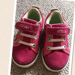 Clark shoes for little girl