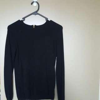 Zara Knit In Black