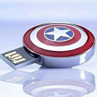 CAPTAIN AMERICA SHIELD USB (8GB)