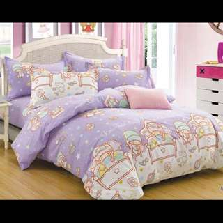 Bed sheet And Curtain
