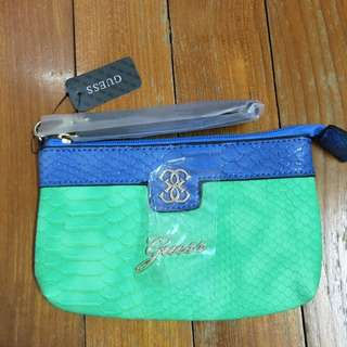 BNWT Guess Wristlet/Pouch With Zip