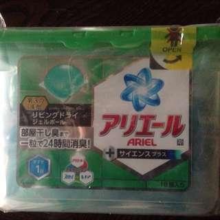 P&G ariel 24H除臭洗衣果凍球 洗衣膠球 只剩一盒437g (18顆入)