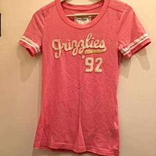 abercrombie&fitch短袖T恤