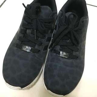 Adidas zx flux 黑 23 US6 #前男友市集