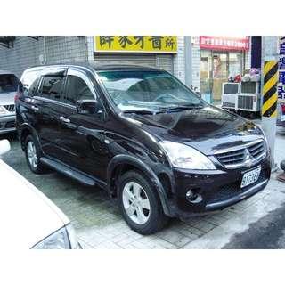 TACA昆定汽車 2006年 三菱【Zinger勁哥】頂級 2.4L 售價25萬 實車實價