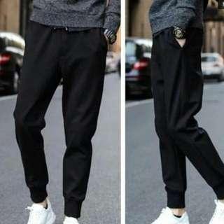 HG#熱賣高質加絨縮口褲