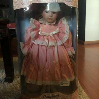 Collectible Genuine Porcelain Doll