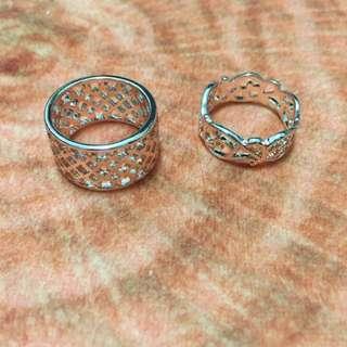 H&M玫瑰金戒指