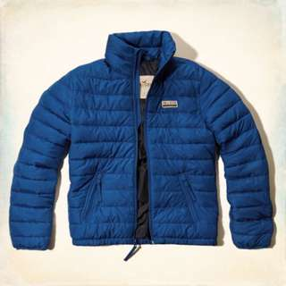 HCO Malibu Lightweight Puffer Jacket 藍色輕量羽毛外套 S*1