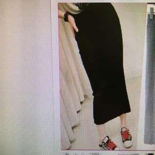 High Wrist Bodycon Skirt