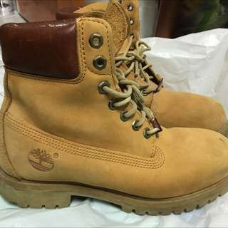 Timberland 經典黃金靴 小麥色US7(25cm)男鞋 二手