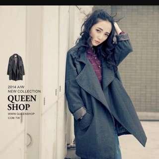Queen Shop 氣勢翻領西裝外套