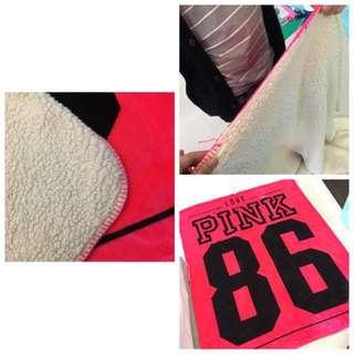 Victoria Secret Pink 毛毛毯 超保暖