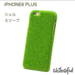 長草皮的手機殼 IPHONE 6/6plus 超可愛