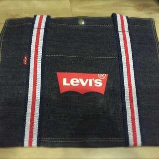 Levi's Levi購物袋 手提包 經典款