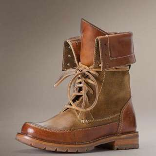 Frye Women's Owen Lace Up Boot   7.5號 全新