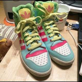 降價 ↘️Original Adidas 高筒球鞋 板鞋