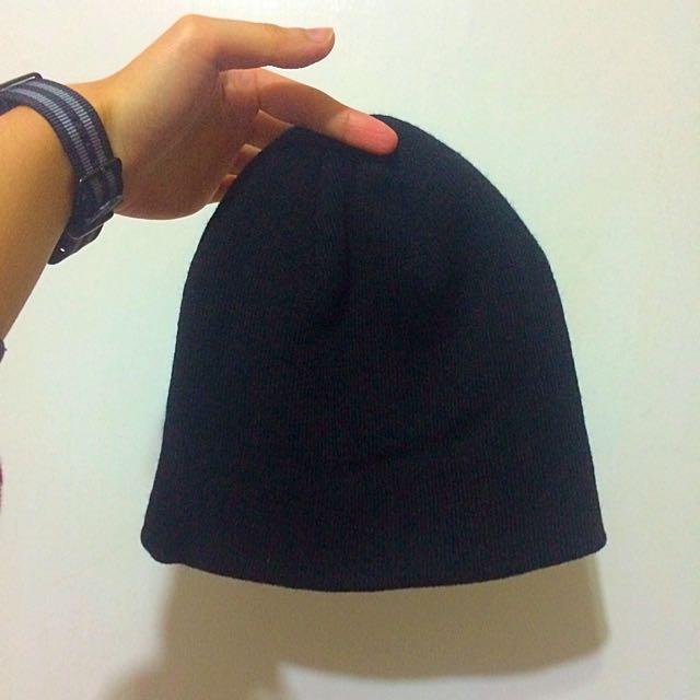 全新✨黑色毛帽