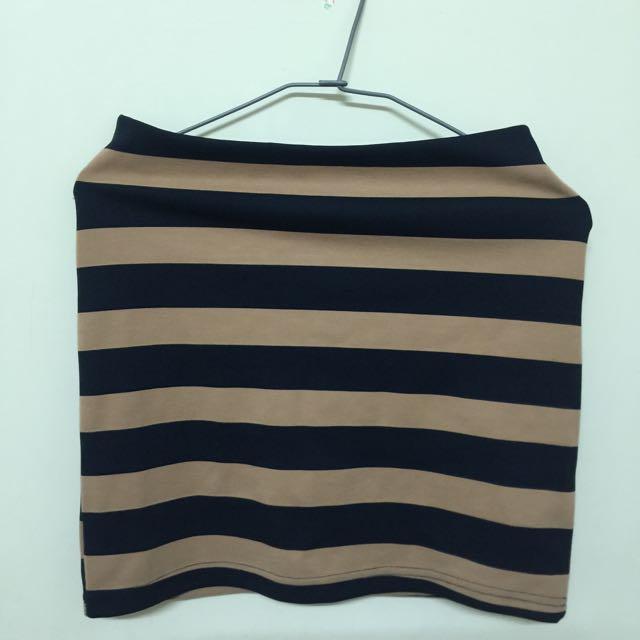💃🏻條紋窄裙(鬆緊帶)