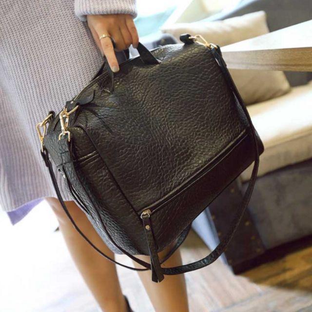 『免運』新款潮流女包手提包包 機車包 大容量單肩包