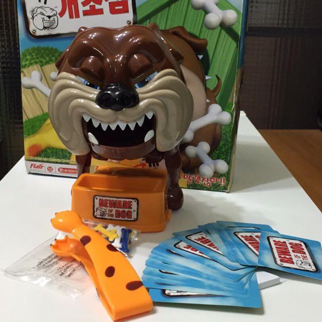 韓國 正韓原裝 小心惡犬 正品 親子遊戲