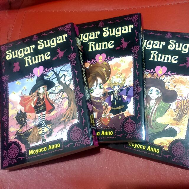 全英文 Sugar Sugar Rune 1,2,4