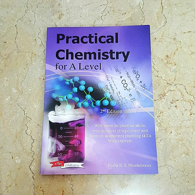 Chemistry Practical Notes A LEVEL, Books & Stationery on