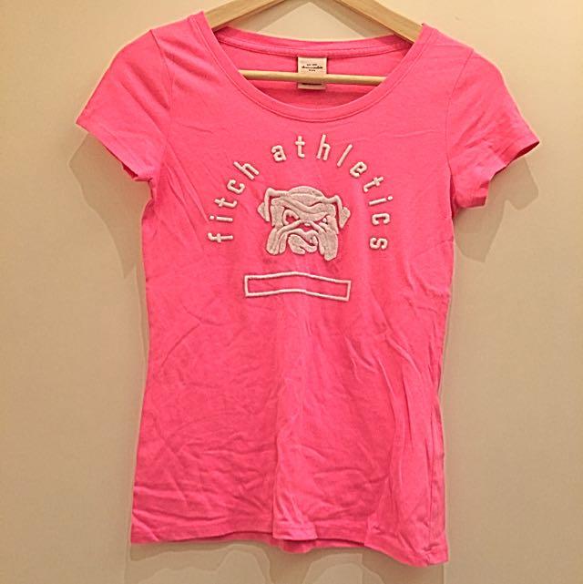 abercrombie&fitch 短袖T恤