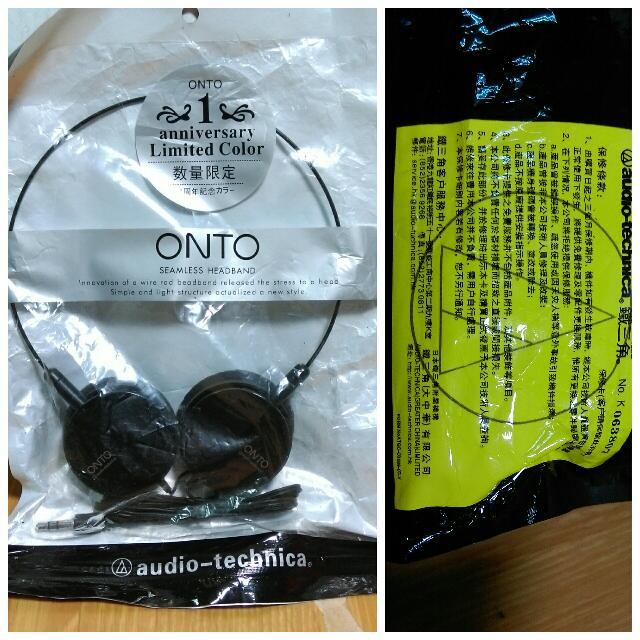 Audio-technica耳機 鐵三角耳機 耳掛式耳機