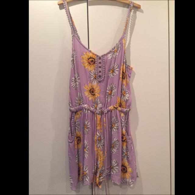 Beautiful River Island Playsuit Fits Au 8-10