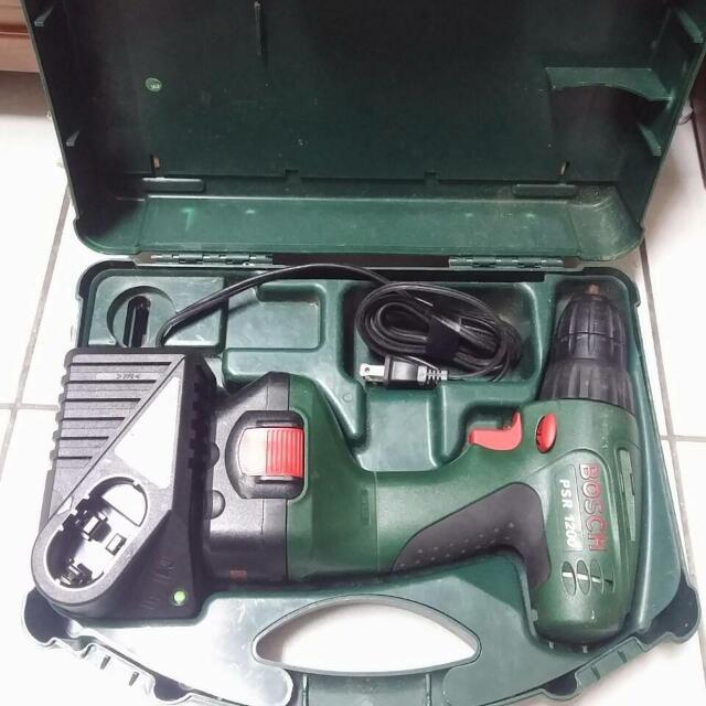 [二手][保留中]Bosch12v充電電鑽