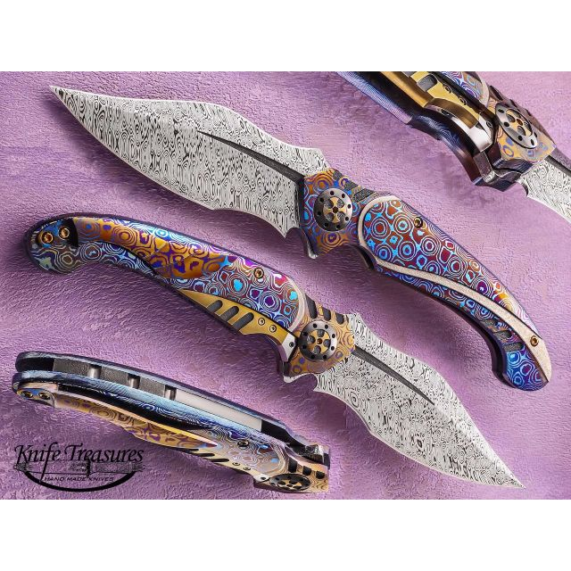 Buying flipper knives with aesthetic design on both blade and handle