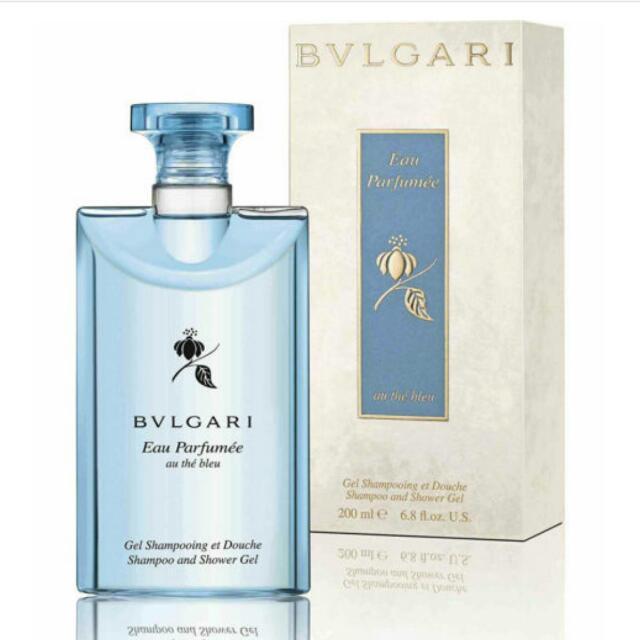 原價❌$1650 特價⭕$1100BVLGARI藍茶香氛洗髮沐浴膠-全新盧亞公司貨