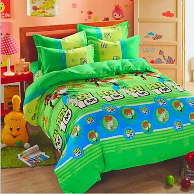 Cadar Ben 10 Bed Sheet Home Furniture On Carousell