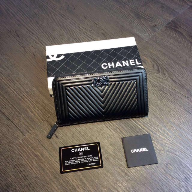 香奈儿CHENL6017#拉链包,黑色,灰色,兰色,玫红,粉色经典5⃣️色,全新包装盒,尺寸:19.5*10。