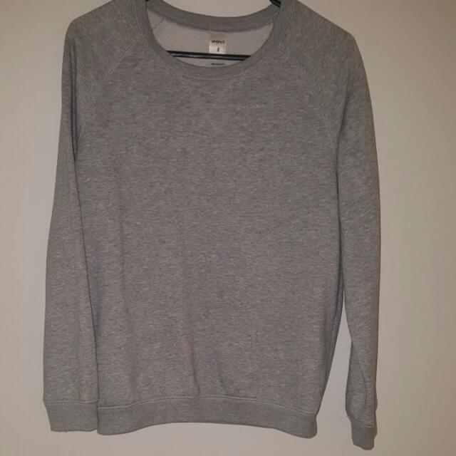Comfy Pullover In Grey