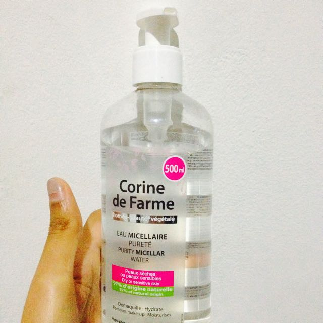 Corine De Farme Nicel at Purity Water Make Up Remover Preloved .