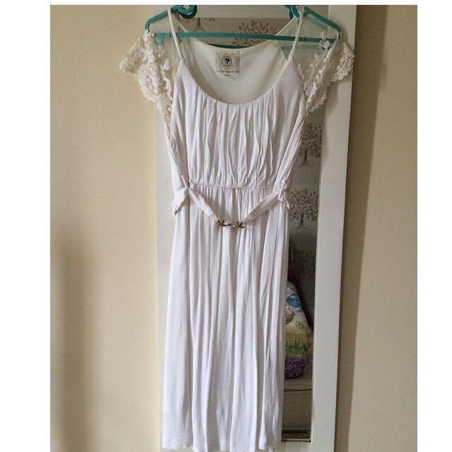 Dress Ciel Putih Lace