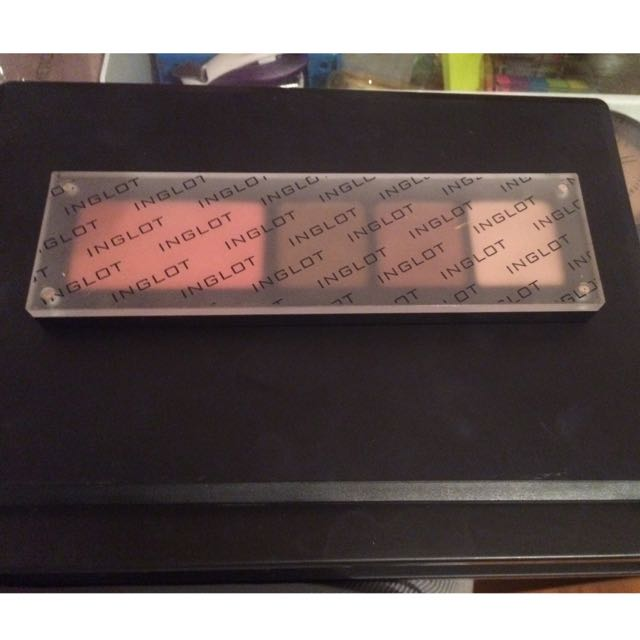 Inglot Eyeshadows and Blush