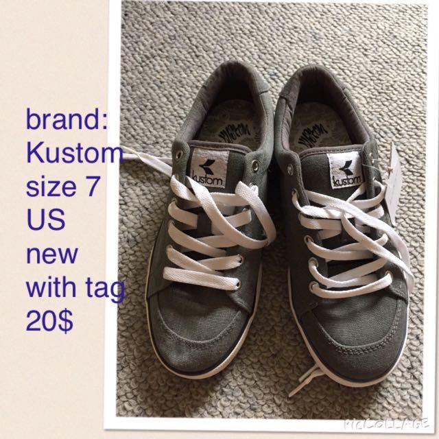 Kustom shoes
