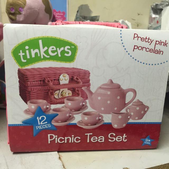 Porcelain Tea Set BNIB