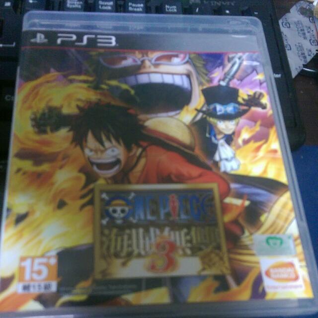 PS3二手 海賊無雙3