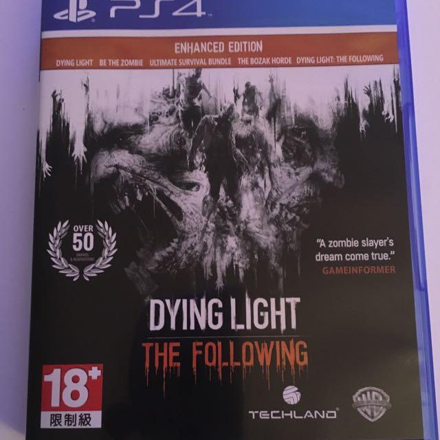 PS4 垂死之光 強化版