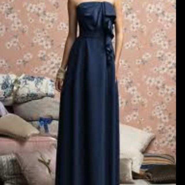 Tailor Made Navy Formal Dress