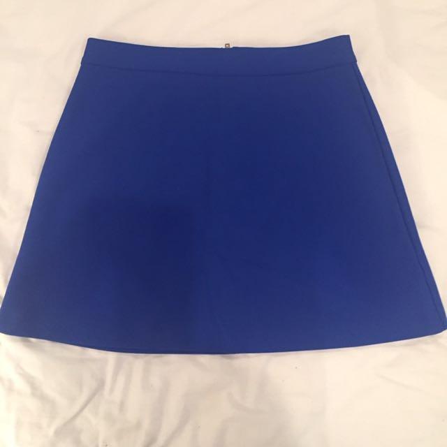 Topshop A Line Skirt Au 12