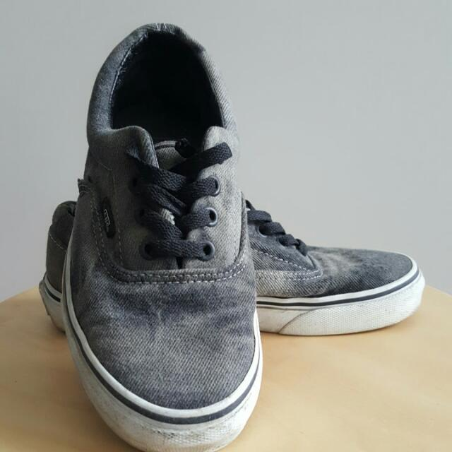Vans faded dark grey